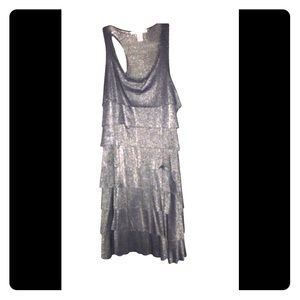 Kenneth Cole Shimmery Tiered Night Out Dress